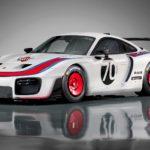 Siêu xe Porsche 935 mới trên đường đua