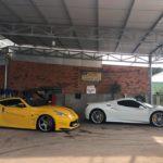 Siêu xe Ferrari 488 GTB ở Bình Phước gắn biển nước ngoài