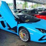 Đại gia Campuchia chơi trội mua Lamborghini Aventador S mui trần