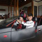 Siêu xe mui trần tự chế từ sắt vụn ở Hà Tĩnh