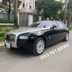 Rolls royce Ghost EWB 2012 cũ giá gần 14 tỷ đồng