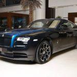 Xe siêu sang hiếm Rolls-Royce Black Badge Wraith Adamas