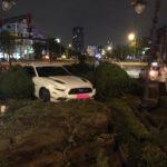 Siêu ngựa Ford Mustang GT bị tai nạn ở Việt Nam