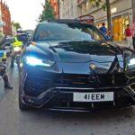Siêu xe SUV Lamborghini URUS bị cảnh sát dừng nhắc nhở vì pô quá to