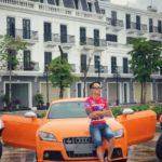 Tùng Giang thiếu gia chơi xe thể thao nổi tiếng