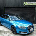 Audi A6 độ xanh Lemans cực độc và nội thất carbon giá 700 triệu
