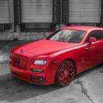 Rolls Royce Wraith độ toàn màu đỏ siêu xấu bởi Mansory