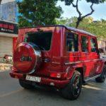 Mercedes G63 AMG sơn màu đỏ Tomato Red cực hiếm ở Hà Nội