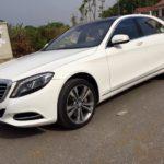 Xe siêu sang Mercedes S500 giá bán 4,5 tỷ sau 1 đời chủ