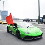 Video dàn siêu xe của đại gia Việt cổ vũ đội tuyển Việt Nam chiến thắng