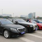 Hà Nội: Đại gia mang cả dàn siêu xe đi cổ vũ đội tuyển Việt Nam