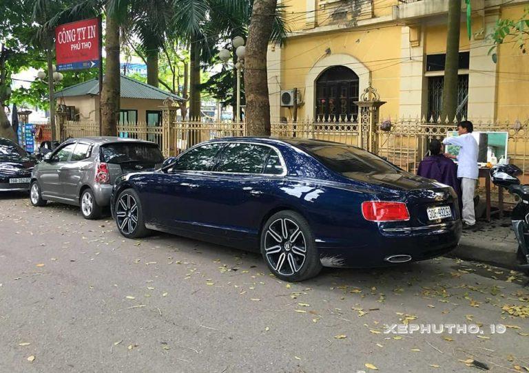 Siêu xe Bentley Phú Thọ