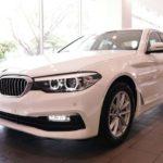 Xe sang BMW 5 series mới hoàn toàn tại Việt Nam