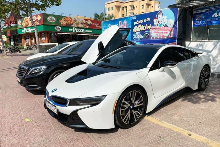 Siêu xe đẹp bmw i8 Hà Nội
