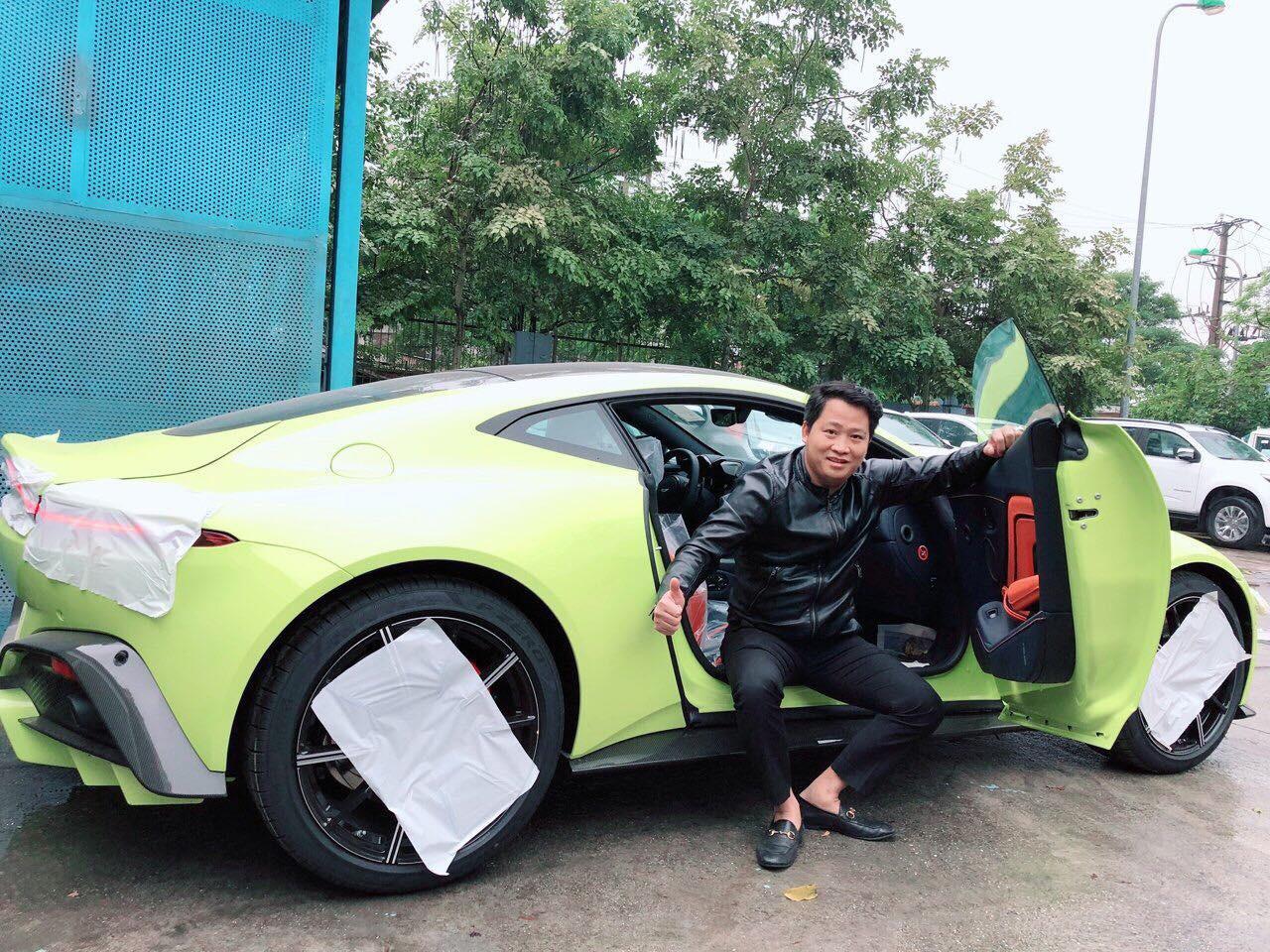 Aston martin của đại gia Sài Gòn