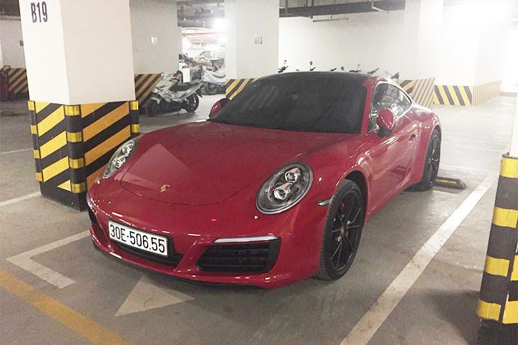 Siêu xe Porsche của đại gia Thanh Hóa