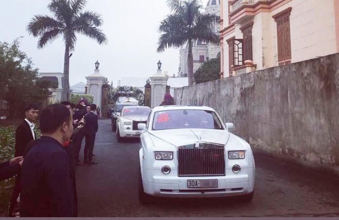 Siêu xe Rolls royce đám cưới hoành tráng