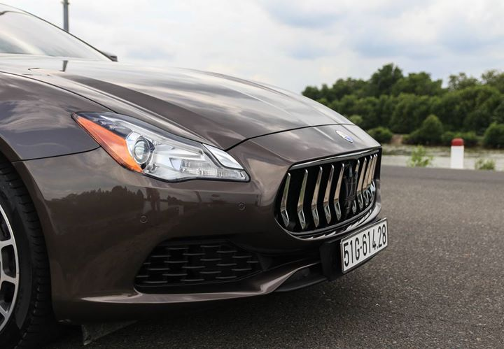 Xe sang Maserati Quattroporte đại gia
