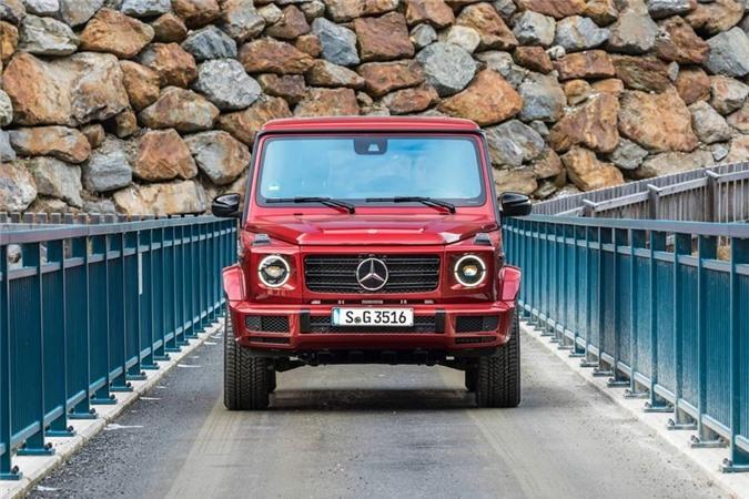 Mercedes G class hạng sang đời mới