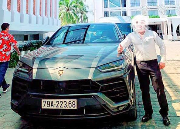 Đại gia Nha Trang mua Lamborghini URUS khủng biển đẹp
