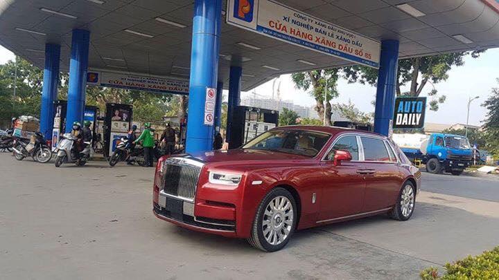 Xe khủng Rolls royce Phantom đã về Việt Nam
