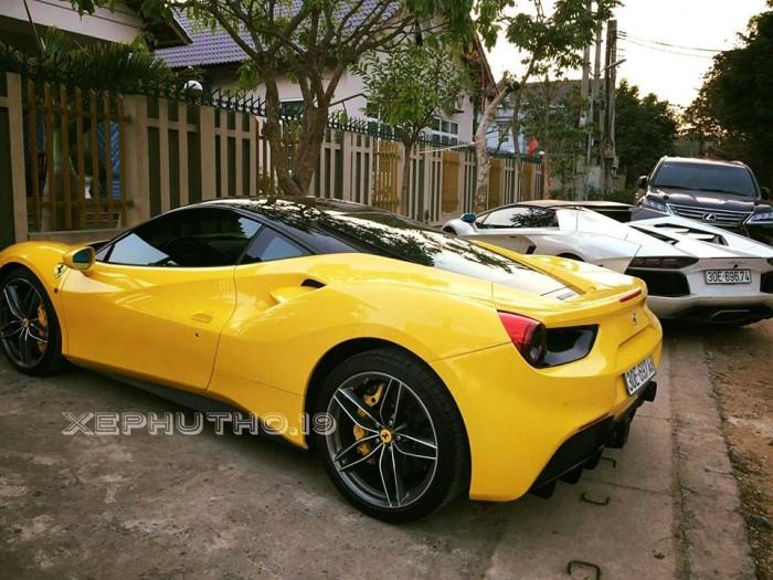 siêu xe của đại gia Phú Thọ