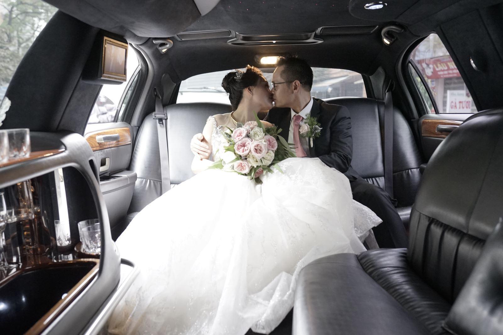 Đám cưới siêu xe cực hạnh phúc