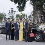 Đám cưới siêu xe Limousine khủng rước dâu tại Nam Định