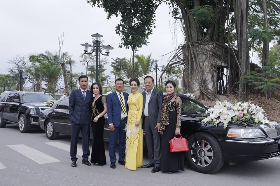 Đám cưới siêu xe hoành tráng tại Nam Định