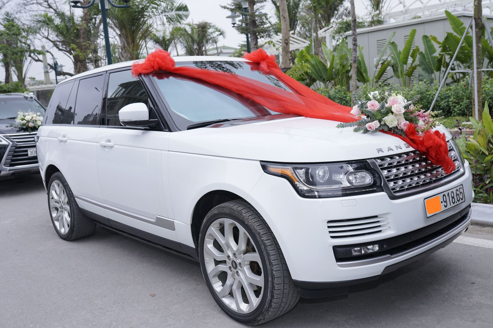 Xe Range rover khủng đón dâu Nam Định
