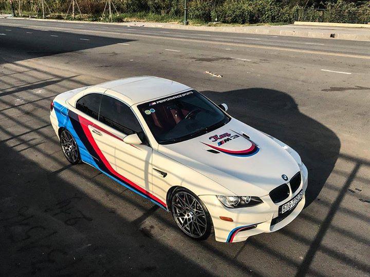 Siêu xe mui trần BMW M3 sài gòn đẳng cấp