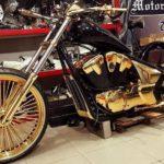 Đại gia Phúc XO dát vàng thật cho 3 siêu xe môtô