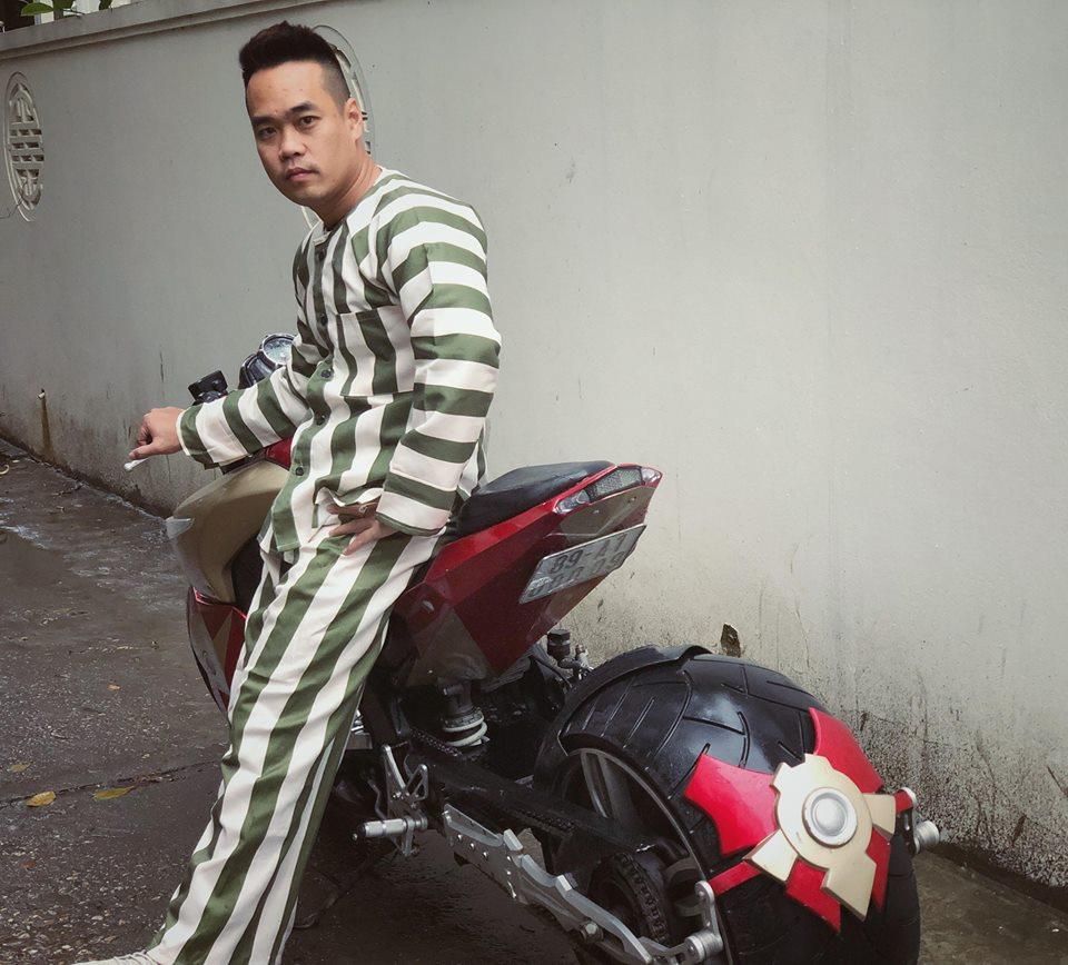 Siêu xe mô tô khủng của dân chơi Tùng Giang