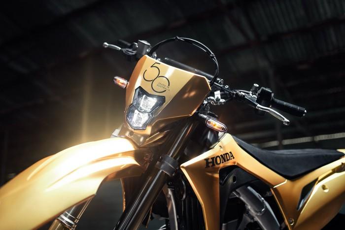 honda đẹp mạ vàng cho đại gia mô tô