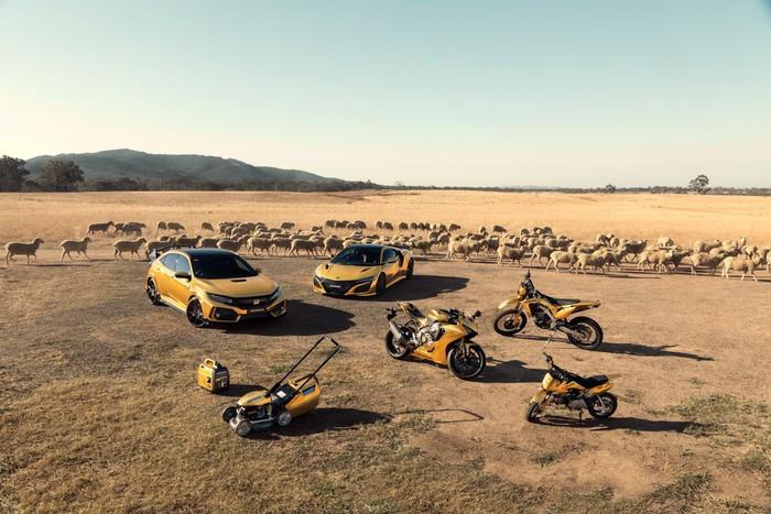 honda mạ vàng siêu xe cực nổi bật