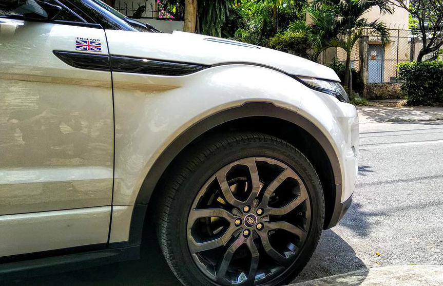 Range rover evoque coupe hàng hiếm Sài Gòn