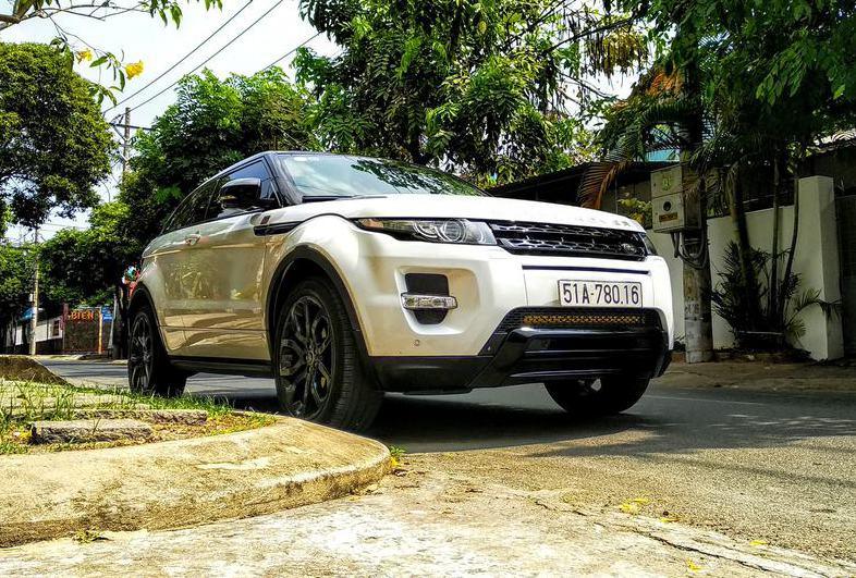 Xe sang hiếm Range rover evoque đại gia Sài Gòn