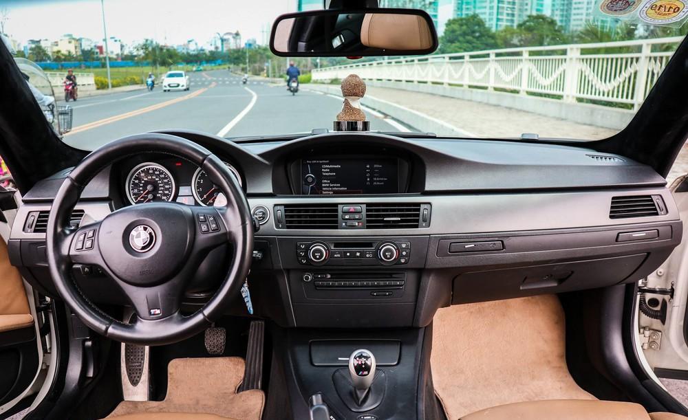 Nội thất siêu xe BMW M3 tuyệt đẹp Sài Gòn
