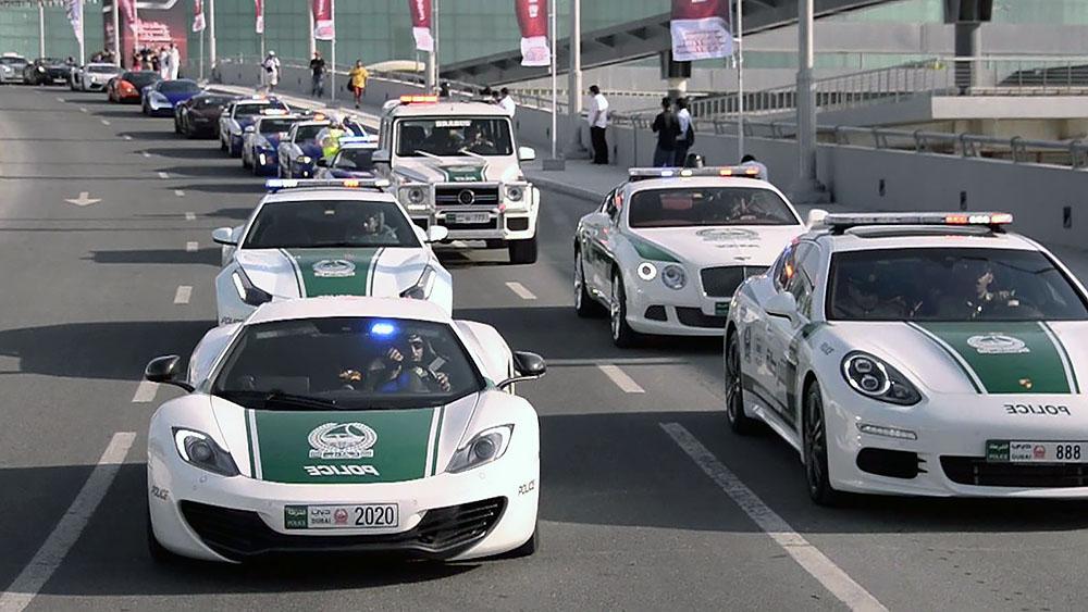 Siêu xe cảnh sát dubai cực khủng