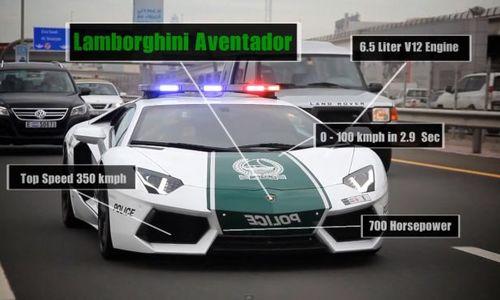 Siêu xe cảnh sát dubai nhiều tính năng