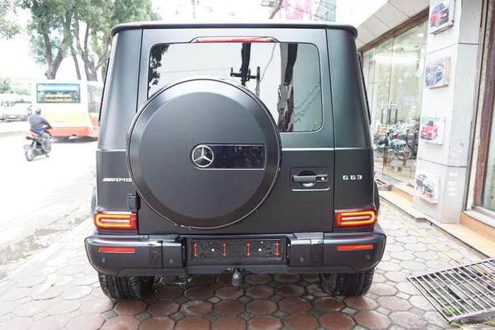 Đuôi xe Mercedes AMG G63 đẹp