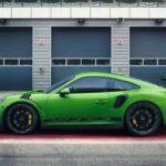 Siêu xe Porsche 911 GT3 RS màu xanh cốm về Việt Nam