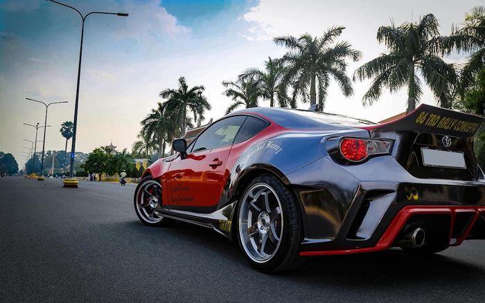 Độ thân rộng siêu xe Toyota