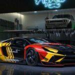 Siêu xe độ lạ mắt Lamborghini Aventador qua gói độ  Liberty Walk