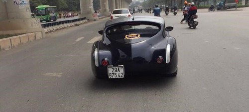 Siêu xe gỗ ở Hà Nội