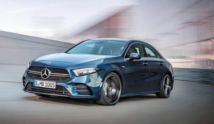 Xe sang nhỏ Mercedes sedan mới 2019