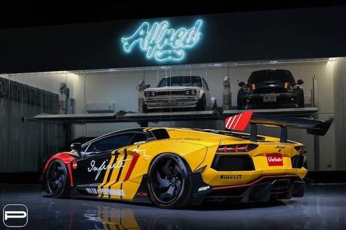 Siêu xe độ Lamborghini dân chơi