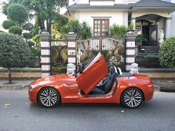 Siêu xe BMW Z4 ở Sài Gòn đẹp