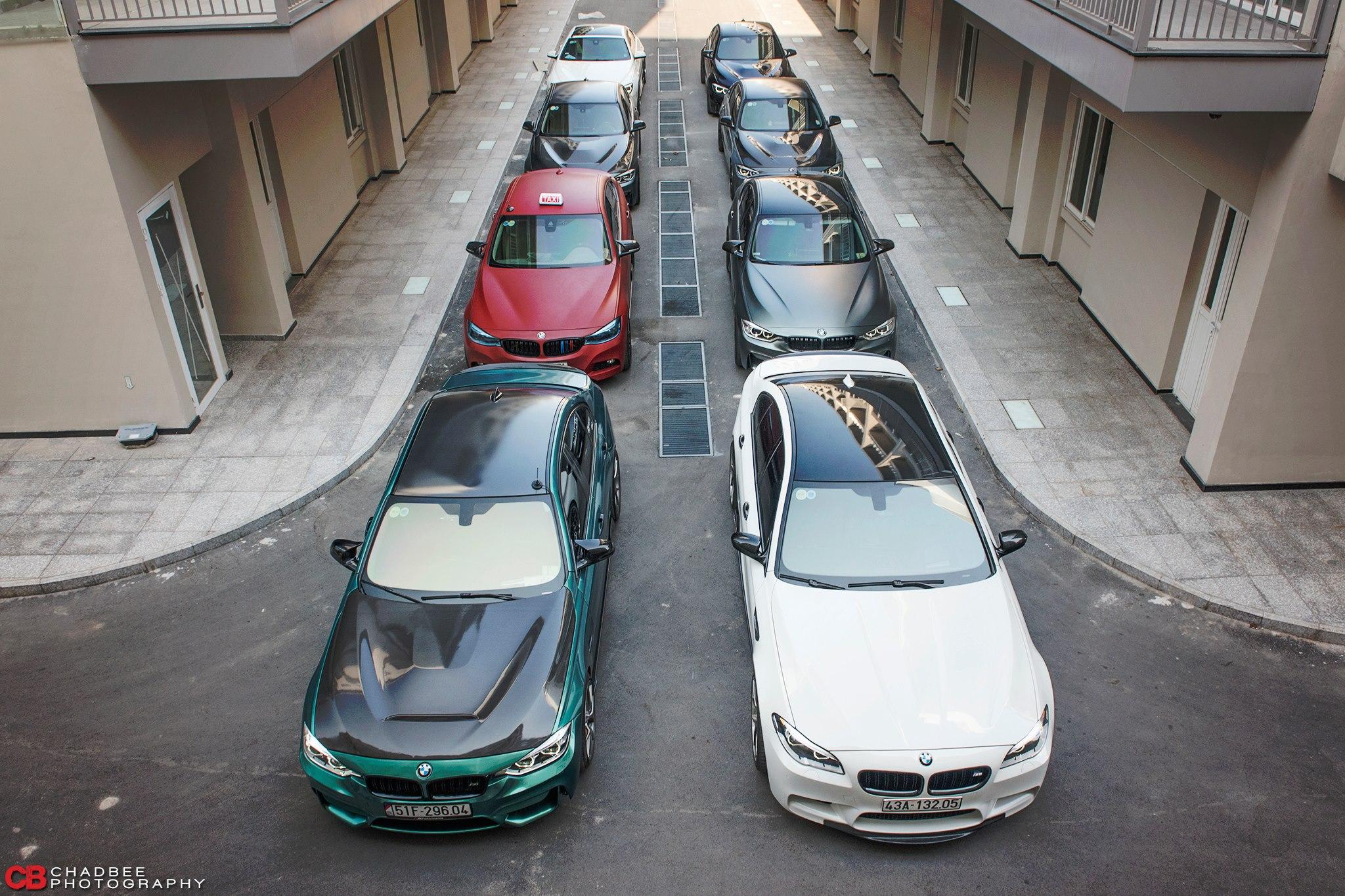 Dàn siêu xe đẹp Sài Gòn