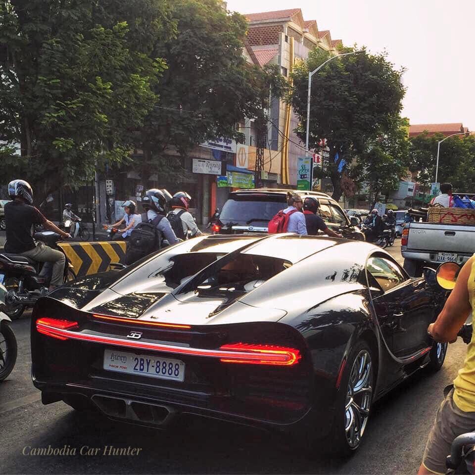 Siêu xe của các đại gia Campuchia